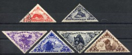 Russia , Tuva , SG 73-7, 1935,Animals,high Values,used - Used Stamps