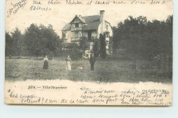 SPA - Villa Meyerbeer (carte Vendue En L'état). - Spa
