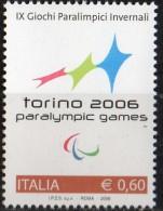 PIA - ITALIA - 2006 : 9° Giochi Paralimpici Mondiali - Torino 2006 - (SAS  2883) - 6. 1946-.. Republik