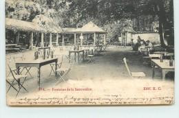 SPA - Fontaine De La Sauvenière. (carte Vendue En L'état) - Spa