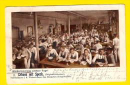 ERBSEN MIT SPECK 1903 Sammelkarte Waisenhauser Des Deutschen Kriegerbundes KASERNE CASERNE 2898 - Militaria