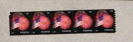 291906621 USA  POSTFRIS MINT NEVER HINGED POSTFRISCH EINWANDFREI SCOTT 4853 Strip Van 5  Flag And Firework - United States