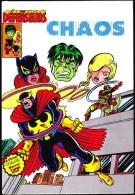 """Les Défenseurs - """" Chaos """" - Album Artima Color / Marvel Super Star - ( 1981 ) . - Défenseur"""