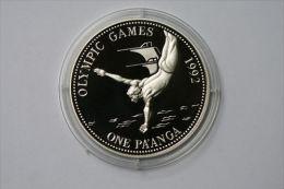 Tonga 1 Paanga, 1991 Diver - Tonga