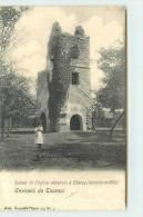 ENVIRONS DE TOURNAI - Ruines De L'église Abbatiale à Chercq. - Tournai
