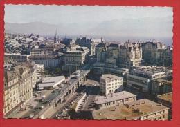 TVD-21  Lausanne, Le Grand-Pont Et Les Alpes.  Non Circulé. Jaeger - VD Vaud