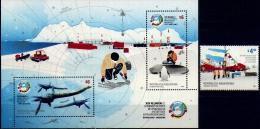 Argentina 2014 ** Antartida. See Description - Blocchi & Foglietti