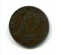 2 Centimes Napoléon III 1856 A - France