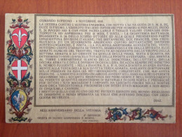 CARTOLINA  MILITARE - Guerra 1914-18