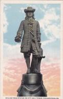 Pennsylvania Philadelphia William Penn Statue On City Hall Tower - Philadelphia