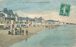 3 CPA       La Baule   Plage à L'heure Des Bains , Estacade , Panorama Du Boulevard   (animées)       825 - La Baule-Escoublac