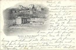 SAINT JUNIEN - 87 - CPA DOS SIMPLE Du Chateau De Saint Amant - ENCH11 - - Saint Junien