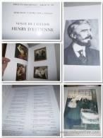 HENRY D'ESTIENNE : VENTE DE L'ATELIER D'HENRY D'ESTIENNE 25 MARS 1998 : 269 Lots - Art