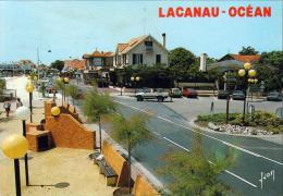 D33  LACANAU OCEAN La Rue Principale - Other Municipalities