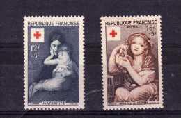 "France (1954)  - ""Croix-Rouge"" Neufs** - Neufs"
