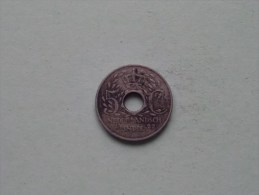 1922 - 5 Cent - KM 313 ( Uncleaned - For Grade, Please See Photo ) ! - [ 4] Colonies