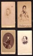 4 Anciennes Photos De Femmes (2). - Personnes Anonymes
