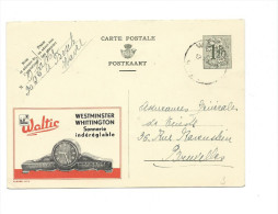 Publibel Obl. N° 1173 (  WALTIC: Horloge De Buffet: Westminster)  Obl: Wavel 10/03/1953 - Publibels