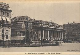 -6--BORDEAUX--LE GRAND THEATRE--NON ECRITE-- - Bordeaux