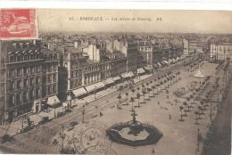 -45--BORDEAUX--LES ALLEES DE TOURNY--OBLIT HORS TIMBRE DU 17 VIII 1934-- - Bordeaux