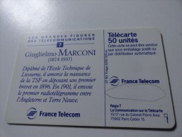 RARE : MARCONI 1 50U SANS NUMEROTATION - Variëteiten
