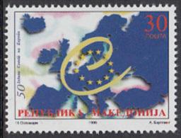 Macedonia 1999 Council Of Europa MNH - Macédoine