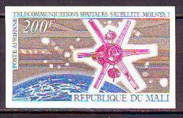MALI - SPACE - SATELLIT  MOLNYA I.- TELECOMMUNICATION - IMPERF - **MNH - 1970 - Telecom