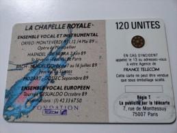 RARE : L'IMPRESSION SOUS REGIE T DE CHAPELLE ROYALE 3 120U SC4 - Variëteiten