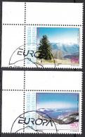 Macedonia 1999 Europa CEPT, National Parks, Set Very Fine USED - Macédoine