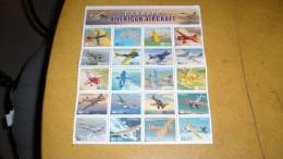 Classic American Aircraft - Hojas Completas