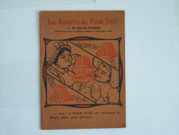 Les Recettes Culinaires  Du Pourt-tout  : KUB  En 1922 - Menus