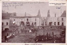 C 11101 - ETIVAL - 88 - La Cour De L'abbaye - CPA - La Guerre Dans Les Vosges 1914 - 1918 - Défauts - - Etival Clairefontaine