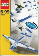 Lego 4098 Creator Aviation avec plan 100 % Complet voir scan
