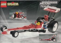 Lego 5533 Voiture De Course Red Fury Avec Plan 100 % Complet Voir Scan - Lego Technic
