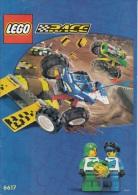 Lego 6617 Tough truck race avec plan 100 % Complet voir scan