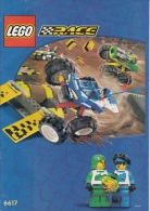 Lego 6617 Tough Truck Race Avec Plan 100 % Complet Voir Scan - Lego System