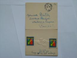 Militaria :lettre  :Poste Aux Armées :Rhin Et Danube 30-12 - Documents Historiques