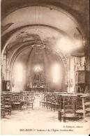 SEC-BOIS (VIEUX-BERQUIN 59232) : Guerre 14-18 - Intérieur De L'Eglise Bombardée. - France