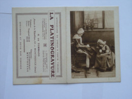 La Platinogravure  :impressions En Creux A Forts Tirages - Publicités