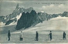 CAROVANE SUL COLLE DEL GIGANTE (AO) - F/P - V: 1919 - Italia