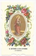 Santa Sotere V E M Di Roma - 10 Febbraio - Images Religieuses