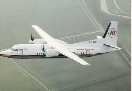 Kenya Airways, Fokker 50, Unused Postcard [14713] - 1946-....: Moderne