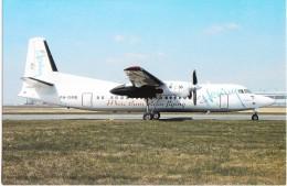 Denim Air, Fokker 50, Unused Postcard [14717] - 1946-....: Moderne