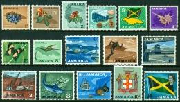 "-Jamaica-1964-""Definitive Set Of 16"" MNH (**) - Jamaica (1962-...)"