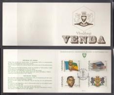 Venda 1979 Independence S Collectors Sheet 1./1a Special SIBASA Cancel. - Venda