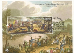 Portugal & 200 Anos Da Guerra Penisular, Batalha De Grijó 2010 - Blocks & Sheetlets