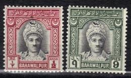 Etats Princiers De L´Inde Bahawalpur N° 3, 4 * - Bahawalpur