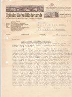 MÜNCHEN .- OPTISCHE WERKE  G.RODENSTOCK - Deutschland