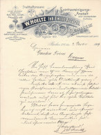 BERLIN S.W. W.HOELTZ Inh. Emilie Eccardt .Spiritusreinigungs-Ansta Lt. - Deutschland