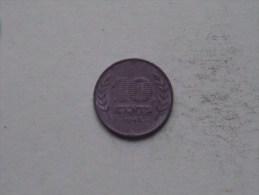1942 - 10 Cent / KM 173 ( Uncleaned - For Grade, Please See Photo ) ! - [ 3] 1815-…: Königreich Der Niederlande